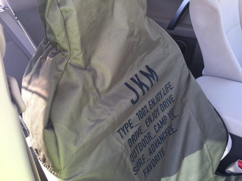 オートバックスJKMのシートカバー