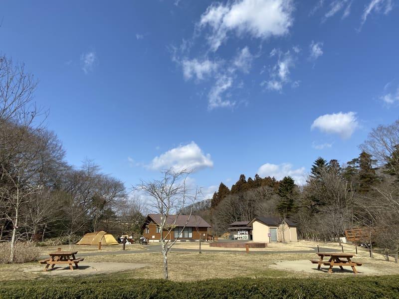 宮城県水の森公園キャンプ場