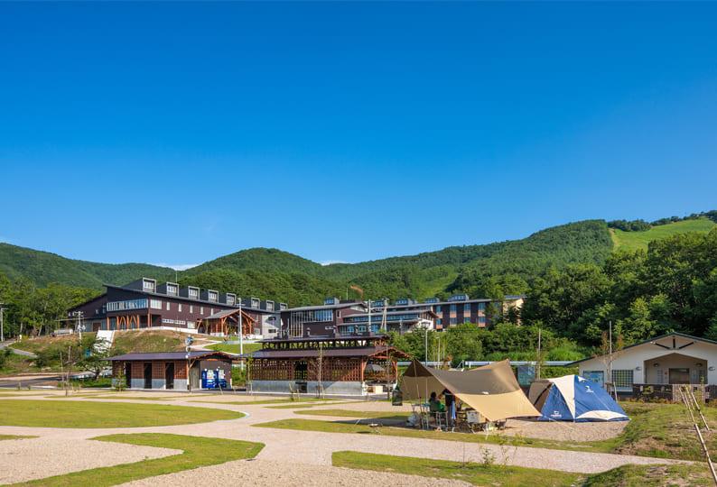 宮城県オーエンス泉岳自然ふれあい館キャンプ場