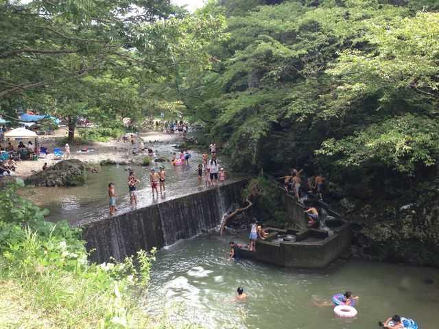 宮城県_無料格安キャンプ場_三滝堂ふれあい公園ふくろうの森キャンプ場