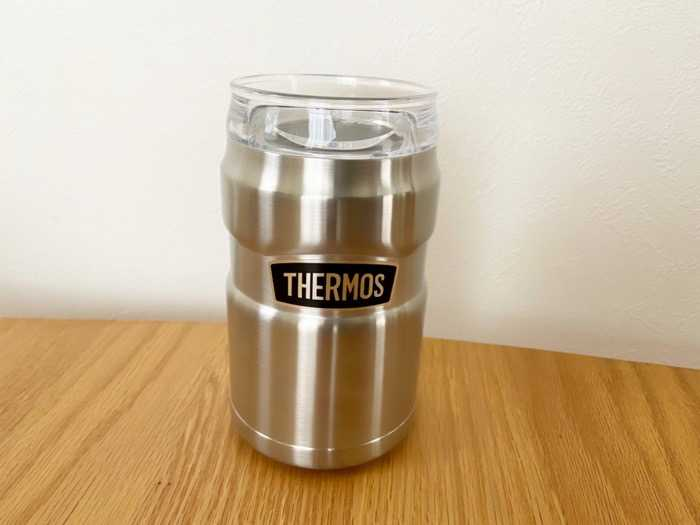 サーモス保冷缶ホルダーROD-002ステンレス