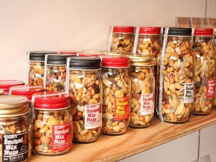 宮城県マンチーフーズのスモークミックスナッツの種類
