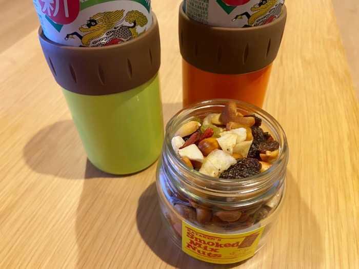 宮城県マンチーフーズ|スモークミックスナッツとビール