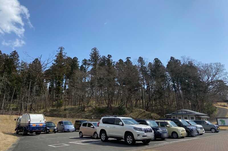 宮城県無料キャンプ場:大嶽山交流広場:整備された駐車場
