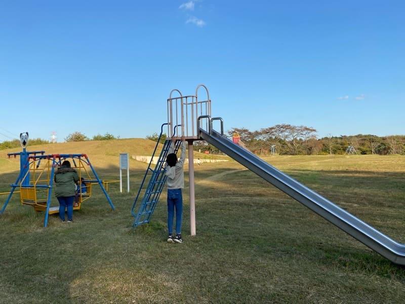 松島町野外活動センターキャンプ場の遊具