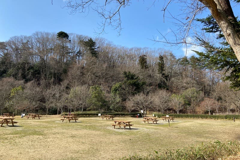 宮城県水の森キャンプ場のデイキャンプサイト